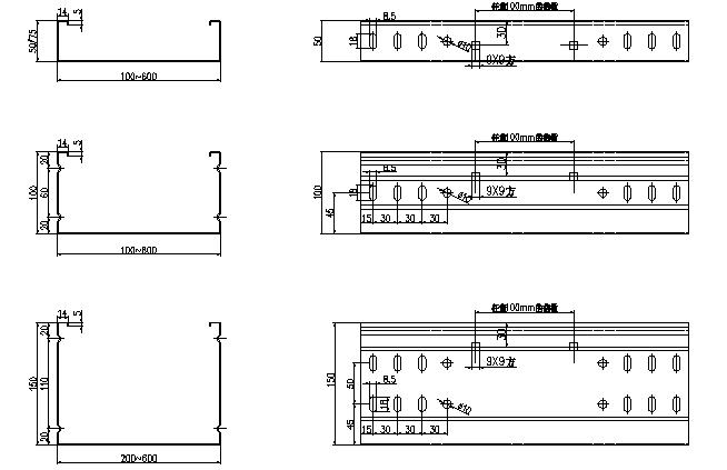 下文仅为悬臂式桥架成型机参考资料,具体按客户要求来定制 1.悬臂式桥架成型机技术标准 1.1 CECS31:2006 《钢制电缆桥架工程设计规范》 1.2 GB/T6725-2002 《冷弯型钢技术条件》 1.3 GB/T6728-200 《结构用冷弯空心型钢尺寸、外型、重量及允许偏差》 1.4 GB6723-86 《通用冷弯开口型钢尺寸、外形、重量及允许偏差》 1.